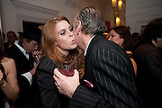 PRINCESS BEATRICE; MICK JONES  Georgina Chapman and Stephen Webster celebrate her guest designer collection for Garrard. Albermarle St. London. 4 November 2009