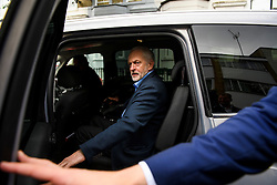 © Licensed to London News Pictures. 26/06/2016. London, UK. Leader of the Labour  Party JEREMY CORBYN leaves his London home on the day that Angela Eagle MP is expected to launch a leadership challenge. Photo credit: Ben Cawthra/LNP