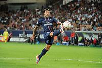 FOOTBALL - FRENCH CHAMPIONSHIP 2012/2013 - L1 - PARIS SG v FC LORIENT - 11/08/2012 - PHOTO JEAN MARIE HERVIO / REGAMEDIA / DPPI - EZEQUIEL LAVEZZI (PSG)