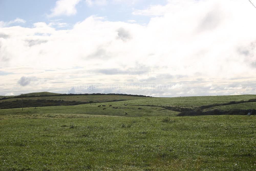 Fields near Doolin the Burren County Clare ireland