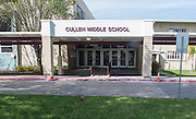 Cullen Middle School photographed April 5, 2013. The school was a recipient of funds from the 2007 Bond.