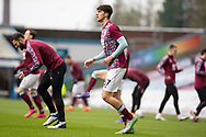Burnley defender Bobby Thomas (37)warming up before  the FA Cup match between Burnley and Milton Keynes Dons at Turf Moor, Burnley, England on 9 January 2021.