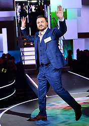 Daniel O'Reilly enters the house during the Celebrity Big Brother Men's Launch held at Elstree Studios in Borehamwood, Hertfordshire. PRESS ASSOCIATION Photo. Picture date: Friday January 5, 2018. See PA story SHOWBIZ CBB Housemates. Photo credit should read: Ian West/PA Wire