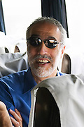 Sam Gugino, wine writer in sun glasses Uruguay, South America
