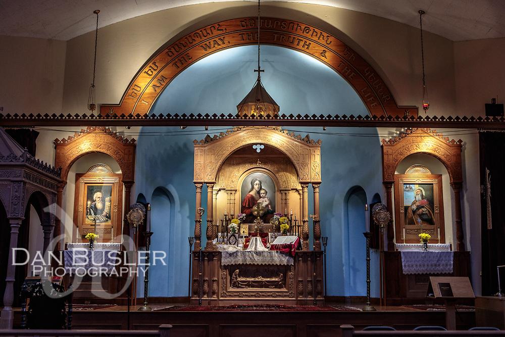 Varjabedian St Stephen's Church Watertown, MA October 21, 2018