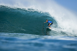 October 12, 2017 - Kanoa Igarashi (USA) Placed 3rd in Heat 6 of Round One at Quiksilver Pro France 2017, Hossegor, France..Quiksilver Pro France 2017, Landes, France - 12 Oct 2017 (Credit Image: © WSL via ZUMA Press)