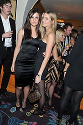 Left to right, LILY ROBINSON and SOPHIE PARK  at a party to celebrate the publication of Tatler Magazine's Little Black Book 2012 held at Annabel's, Berkeley Square, London on 7th November 2012.