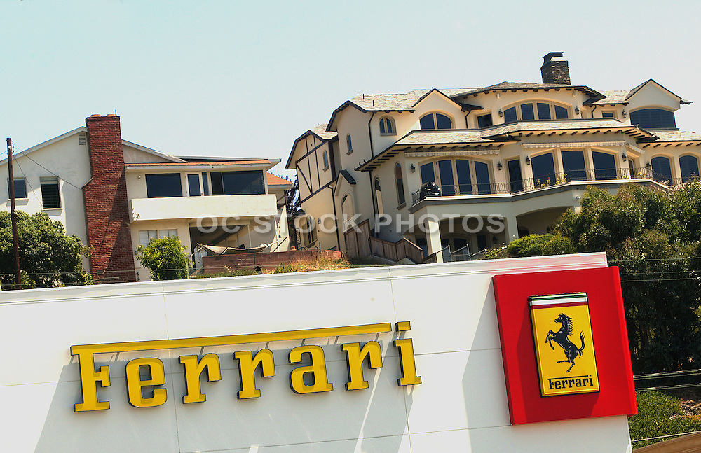 Ferrari Monument In Newport Beach