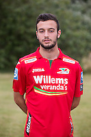20150626 - OOSTENDE, BELGIUM: Oostende's Sebastien Locigno pictured during the 2015-2016 season photo shoot of Belgian first league soccer team KV Oostende, Friday 26 June 2015 in Oostende. BELGA PHOTO KURT DESPLENTER