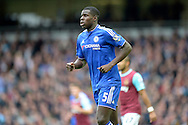 Kurt Zouma of Chelsea in action. Barclays Premier League, West Ham Utd v Chelsea at The Boleyn Ground, Upton Park in London on Saturday 24th October 2015.<br /> pic by John Patrick Fletcher, Andrew Orchard sports photography.