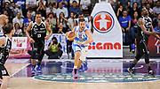 DESCRIZIONE : Campionato 2014/15 Dinamo Banco di Sardegna Sassari - Dolomiti Energia Aquila Trento Playoff Quarti di Finale Gara4<br /> GIOCATORE : Matteo Formenti<br /> CATEGORIA : Palleggio Contropiede<br /> SQUADRA : Dinamo Banco di Sardegna Sassari<br /> EVENTO : LegaBasket Serie A Beko 2014/2015 Playoff Quarti di Finale Gara4<br /> GARA : Dinamo Banco di Sardegna Sassari - Dolomiti Energia Aquila Trento Gara4<br /> DATA : 24/05/2015<br /> SPORT : Pallacanestro <br /> AUTORE : Agenzia Ciamillo-Castoria/L.Canu