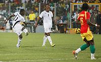 Photo: Steve Bond/Richard Lane Photography.<br />Ghana v Guinea. Africa Cup of Nations. 20/01/2008. Sulley Muntari (L) hits the late winner