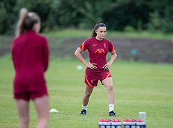 WALLASEY, ENGLAND - Wednesday, July 28, 2021: Liverpool's Evie Smith during a training session at The Campus as the team prepare for the start of the new 2021/22 season. (Pic by David Rawcliffe/Propaganda)