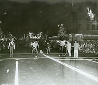 1955 Santa Claus Lane Parade on Hollywood Blvd.