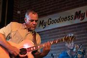 The Gravy Boys performing at Irish pub Tir na nOg, Raleigh, NC on August 4, 2012