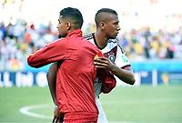 v.l. Kevin-Prince Boateng (Ghana), Jerome Boateng (Deutschland)<br /> Fussball WM 2014 , Vorrunde, Deutschland - Ghana<br /> Tyskland - Ghana<br /> <br /> Norway only