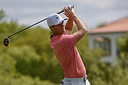 Lucas Bjerregaard (DEN) watches his tee shot on 3 during day 2 of the WGC Dell Match Play, at the Austin Country Club, Austin, Texas, USA. 3/28/2019.<br /> Picture: Golffile | Ken Murray<br /> <br /> <br /> All photo usage must carry mandatory copyright credit (© Golffile | Ken Murray)