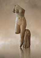 Venus Roman Sculpture from Emperor Hadrians rule 2nd quarter of the 2nd century AD, National Museum of Archaeology of Tarragona, inv no MNAT 377