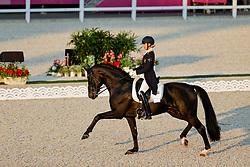 TOKYO - Olympische Spiele / Olympic Games 2021<br /> <br /> PEARCE Simone (AUS), Destano<br /> Grand Prix de Dressage<br /> <br /> Tokio, Equestrian Park<br /> 25. July 2021<br /> © www.sportfotos-lafrentz.de/Stefan Lafrentz