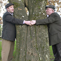Father and son Jackie and Michael Healy-Rae were hugging trees in Kenmare after the official opening of Rossacroo-na-Loo Millennnium Forrest about four miles from Kilgarvan. The 120 acre forrest of mature oak woodland was opened  by Kerry footballer Seamus Moynihan along with a restored Yew wood near Muckross Killarney.<br />