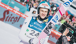 15.02.2020, Kulm, Bad Mitterndorf, AUT, FIS Ski Flug Weltcup, Kulm, Herren, im Bild Antti Aalto (FIN) // Antti Aalto of Finland during his Jump for the men's FIS Ski Flying World Cup at the Kulm in Bad Mitterndorf, Austria on 2020/02/15. EXPA Pictures © 2020, PhotoCredit: EXPA/ JFK