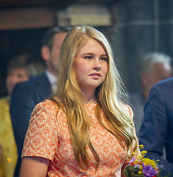 Princess Amalia attending King's Day Celebrations in Groningen, Netherlands, on April 27, 2018. Photo by Robin Utrecht/ABACAPRESS.COM