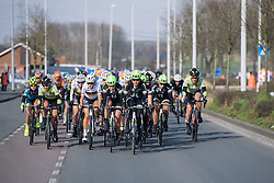 Liv Plantur come to the front as the first big climbs of the day approach - 2016 Omloop het Nieuwsblad - Elite Women, a 124km road race from Vlaams Wielercentrum Eddy Merckx to Ghent on February 27, 2016 in East Flanders, Belgium.