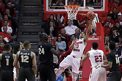 20 March 2017:  Phil Fayne(10) during a College NIT (National Invitational Tournament) 2nd round mens basketball game between the UCF (University of Central Florida) Knights and Illinois State Redbirds in  Redbird Arena, Normal IL