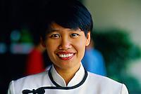 Female staff member, The Oriental Hotel, Singapore