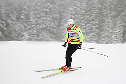 Vesna Fabjan of Slovenia at practice session one day before FIS Cross Country World Cup Rogla 2011, on December 16, 2011 at Rogla, Slovenia. (Photo By Urban Urbanc / Sportida.com)