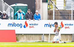 05.05.2019, TGW Arena, Pasching, AUT, 1. FBL, LASK vs RZ Pellets WAC, Meistergruppe, 29. Spieltag, im Bild Torjubel Samuel Tetteh (LASK) // during the tipico Bundesliga master group 29th round match between LASK and RZ Pellets WAC at the TGW Arena in Pasching, Austria on 2019/05/05. EXPA Pictures © 2019, PhotoCredit: EXPA/ JFK