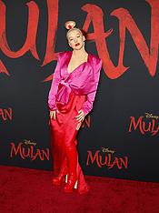 'Mulan' World Premiere - Red Carpet 03-09-2020