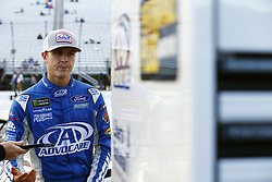 September 22, 2017 - Loudon, New Hampshire, United States of America - September 22, 2017 - Loudon, New Hampshire, USA: Trevor Bayne (6) hangs out on pit road prior to qualifying for the ISM Connect 300 at New Hampshire Motor Speedway in Loudon, New Hampshire. (Credit Image: © Justin R. Noe Asp Inc/ASP via ZUMA Wire)