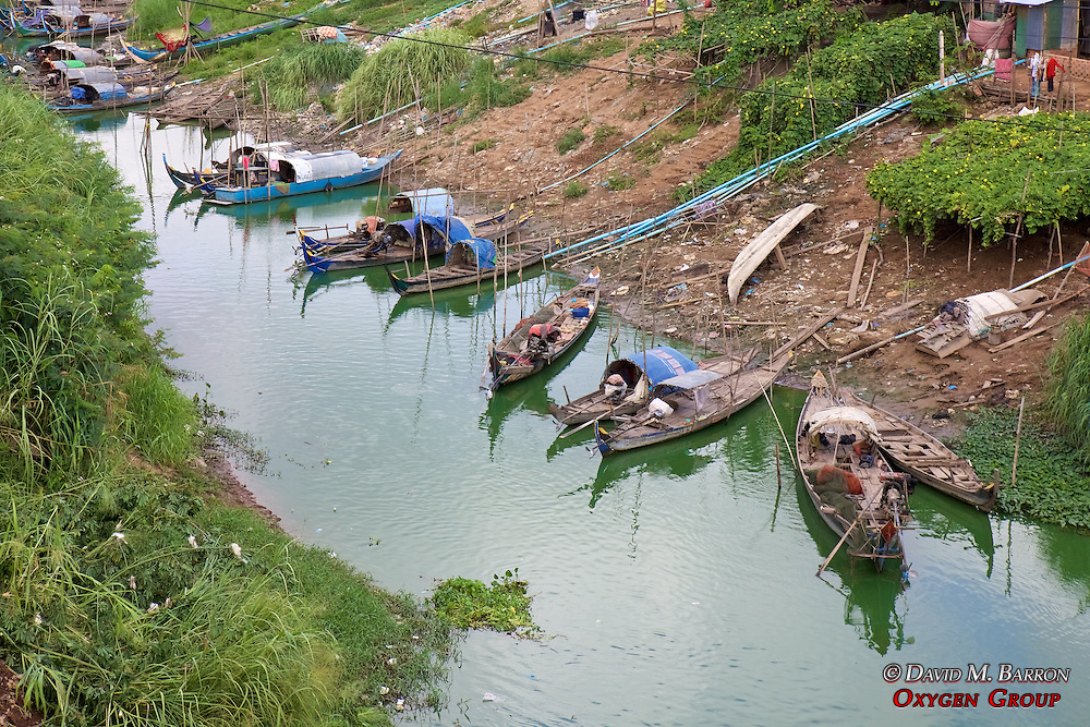 Boats On River