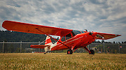 Aeronca Sedan at Wings and Wheels at Oregon Aviation Historical Society.