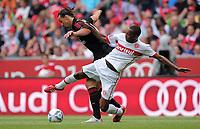 Fotball<br /> Tyskland<br /> 27.07.2011<br /> Foto: Witters/Digitalsport<br /> NORWAY ONLY<br /> <br /> v.l. Zlatan Ibrahimovic, Wilson Matias (Porto)<br /> <br /> Fussball, Audi Cup 2011, Spiel um Platz 3, AC Milan -  SC Internacional Porto Alegre