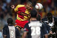 Fotball<br /> Frankrike 2004/05<br /> Lens v Ajaccio<br /> 2. oktober 2004<br /> Foto: Digitalsport<br /> NORWAY ONLY<br /> DANIEL COUSIN (LENS)  *** Local Caption *** 40001361