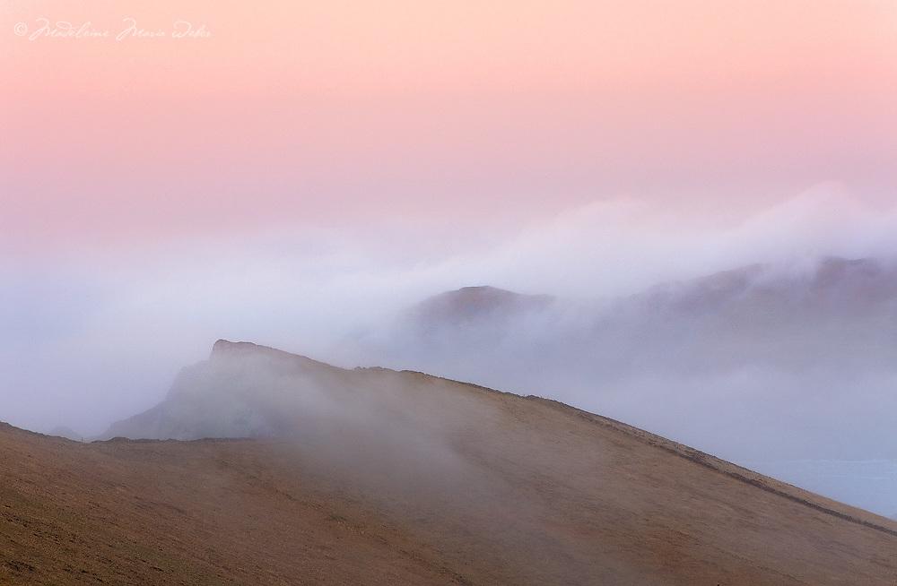 Misty Sunrise at Valentia Island, Ring of Kerry, County Kerry, Ireland /vl128