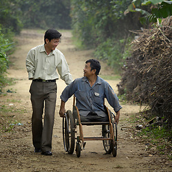Landmine survivors in Vietnam
