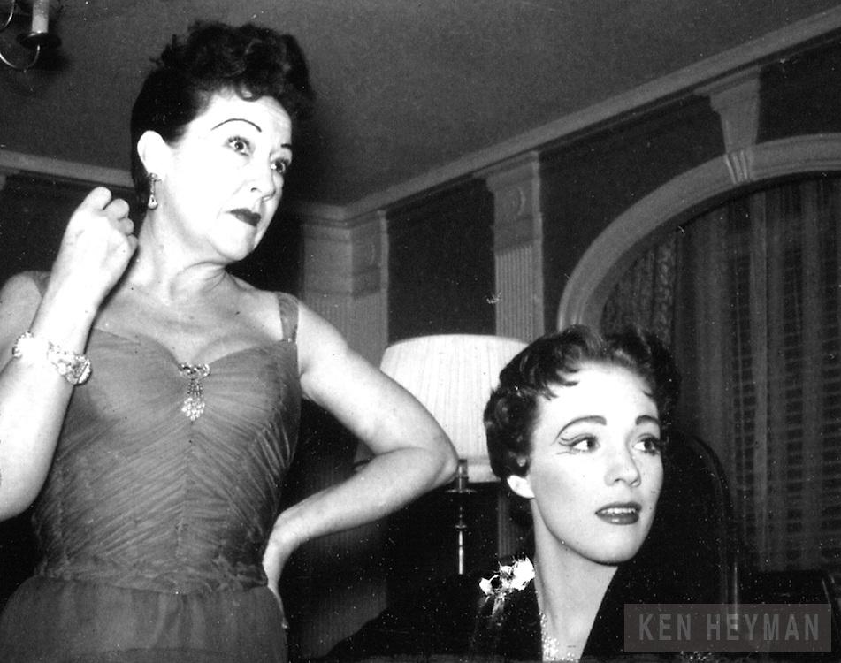 Ethel Merman and Julie Andrews