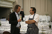 Ivor Braka and Mark Hix, Anita Zabludowicz gallery opening dinner at 176 Prince of Wales Road, NW5 17 September 2007. -DO NOT ARCHIVE-© Copyright Photograph by Dafydd Jones. 248 Clapham Rd. London SW9 0PZ. Tel 0207 820 0771. www.dafjones.com.