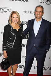 November 13, 2017 - New York City, New York, USA - 11/13/17.Katie Couric and John Moulner at The 2017 Glamour Women of the Year Awards in Brooklyn, New York. (Credit Image: © Starmax/Newscom via ZUMA Press)