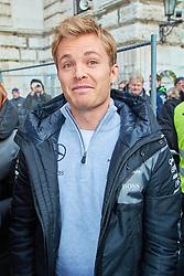 Nach der Bekanntgabe des Karriere-Endes: Nico Rosberg vor der Wiener Hofburg am Heldenplatz anlässlich der FIA Gala in Wien / 021216<br /> <br /> ***Nico Rosberg in front of the Vienna Hofburg Palace ahead of the Fia Gala in Austria, December 2nd, 2016***