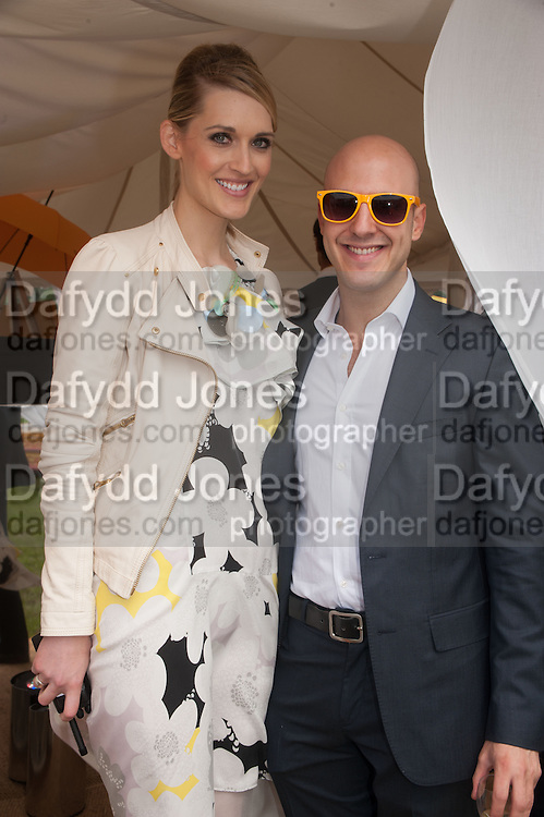 CHRISTINA JESAITIS; NICK ROGERS, The Veuve Clicquot Gold Cup Final.<br /> Cowdray Park Polo Club, Midhurst, , West Sussex. 15 July 2012.