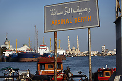 A view of Port Said in Egypt is seen full of boats on April 7, 2008. Besides catering to large shipping vessels, an Arsinal berth is available for yachts coming into Port Said. The Suez Canal is one of the most important shipping routes in the world, as it allows two-way water transportation - most importantly between Europe and Asia without the circumnavigation of Africa.
