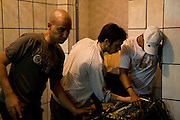 Adam Dean & Joao Pires recording D-Stak, Cota 200