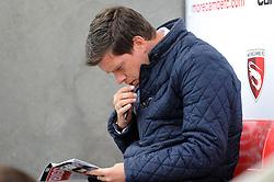 Bristol Rovers Manager Darrell Clarke - Mandatory byline: Neil Brookman/JMP - 07966 386802 - 03/10/2015 - FOOTBALL - Globe Arena - Morecambe, England - Morecambe FC v Bristol Rovers - Sky Bet League Two