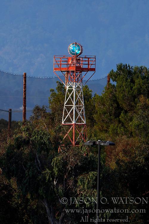 Rotating beacon, Palo Alto Airport (KPAO), Palo Alto, California, United States of America