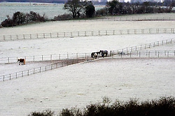 © Licensed to London News Pictures. 19/01/2015<br /> <br /> Freezing cold weather conditions overnight  (19.01.2015)Crockenhill, Kent.<br /> <br /> Weather warning has been issued across most of the uk as temperatures dropped overnight to -11c in parts.<br /> <br /> (Byline:Grant Falvey/LNP)