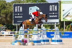 Philippaerts Thibault, BEL, Khan vd Kattevennen Z<br /> FEI Jumping European Championships for Young Riders, Juniors, Children - Vilamoura 2021<br /> © Hippo Foto - Leanjo de Koster<br /> 20/07/2021
